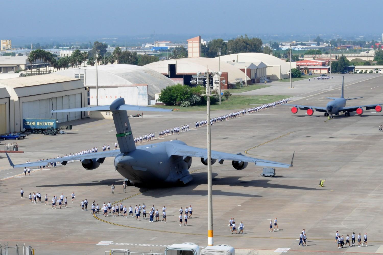 Avioni stacionirani u vazduhoplovnoj bazi Indžirlik u Turskoj (Foto: U.S. Air Force photo by Senior Airman Marissa Tucker)