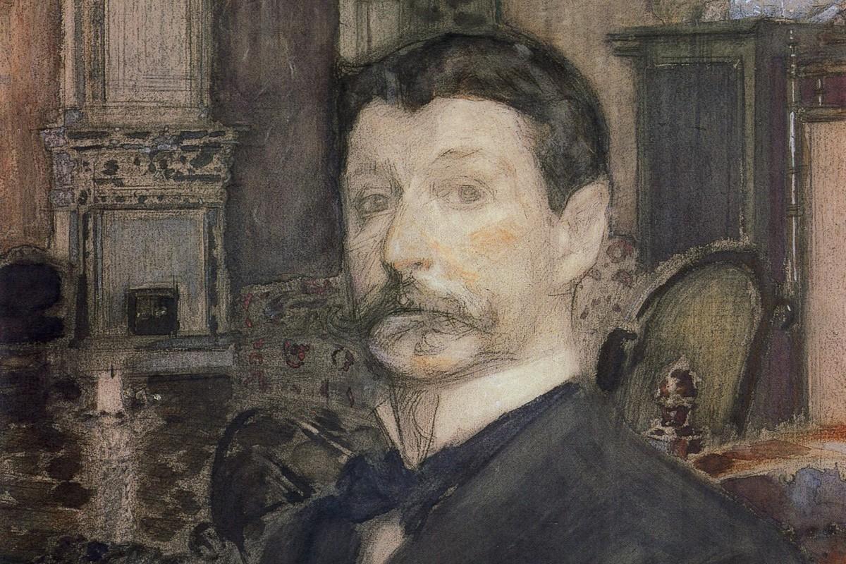 Ruski slikar Mihail Aleksandrovič Vrubelj (Foto: Autoportret Mihaila Vrubelja, 1905. (Foto: Wikimedia/gallerix.ru)