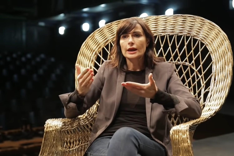 Dramska spisateljica Biljana Srbljanović (Foto: Snimak ekrana/Jutjub)