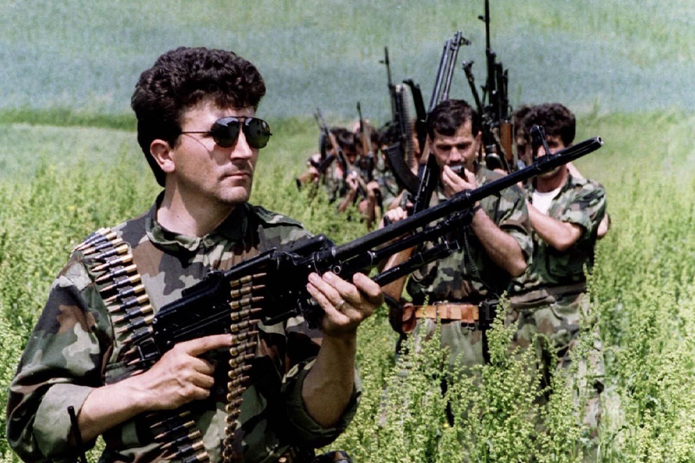 Pripadnici srpskih oružanih snaga u okolini Srebrenice, 31. maj 1993. (Foto: Reuters)