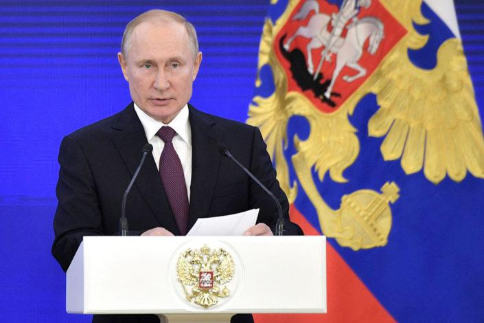 Putin Merkelovoj i Makronu: Spoljno mešanje u Belorusiji je neprihvatljivo