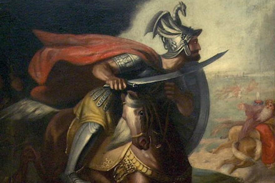 "Aleksandar Dobrić, ""Miloš Obilić"" , 1861. (Foto: Wikimedia/Belgrade National Museum)"