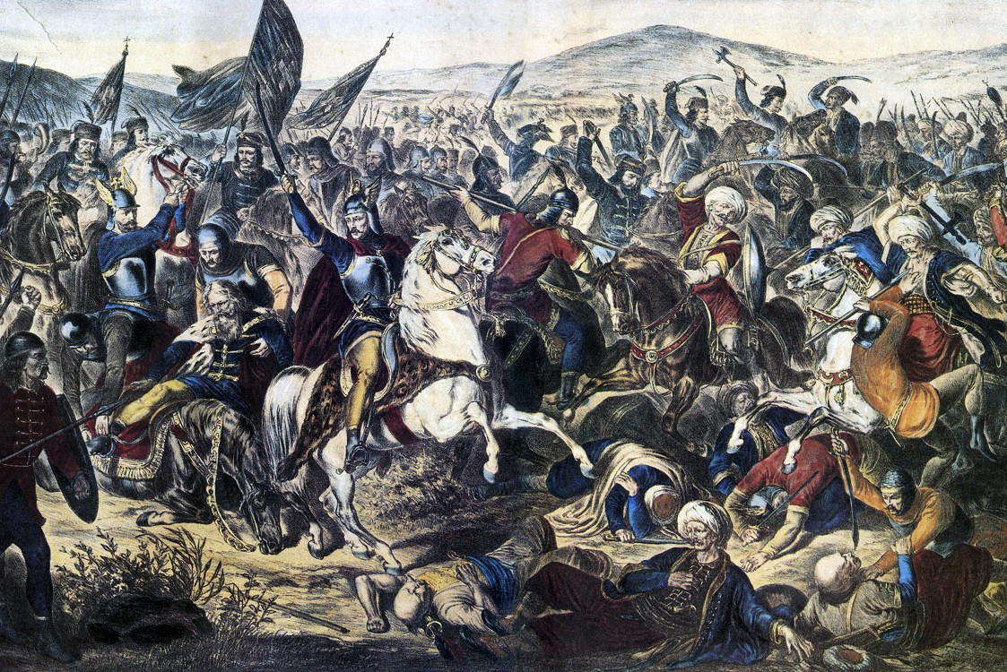 "Adam Stefanović, ""Kosovska bitka 1389"", 1870. (Foto: Wikimedia/desdenotanlejos.files.wordpress.com)"