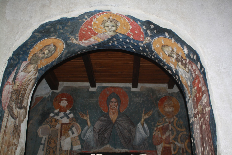 Unutrašnjost Crkve Bogorodice Ljeviške u Prizrenu (Foto: Katarina Steljić/Novi Standard)