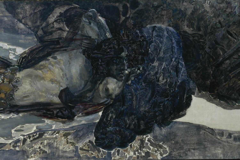 "Mihail Vrubelj, ""Leteći demon"", 1899. (Foto: Wikimedia/DcoetzeeBot/artsandculture.google.com)"