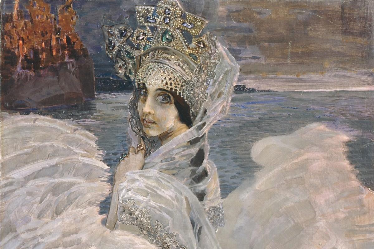 """Mihail Vrubelj, """"Labuđa princeza"""", 1900. (Foto: Wikimedia/Deerstop/bibliotekar.ru/Alekseй Skripnik)"""