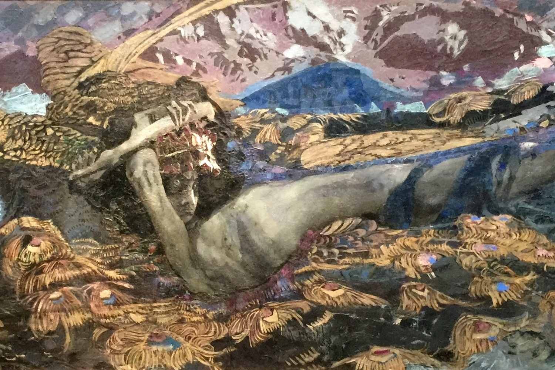"""Mihail Vrubelj, """"Pali demon"""", 1902. (Foto: Wikimedia/Ostolob)"""