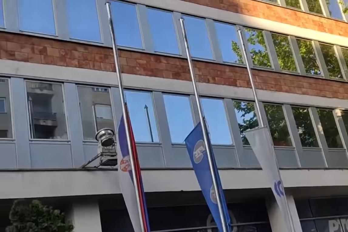 Upravna zgrada RTS-a u Takovskoj ulici (Foto: Snimak ekrana/Jutjub)