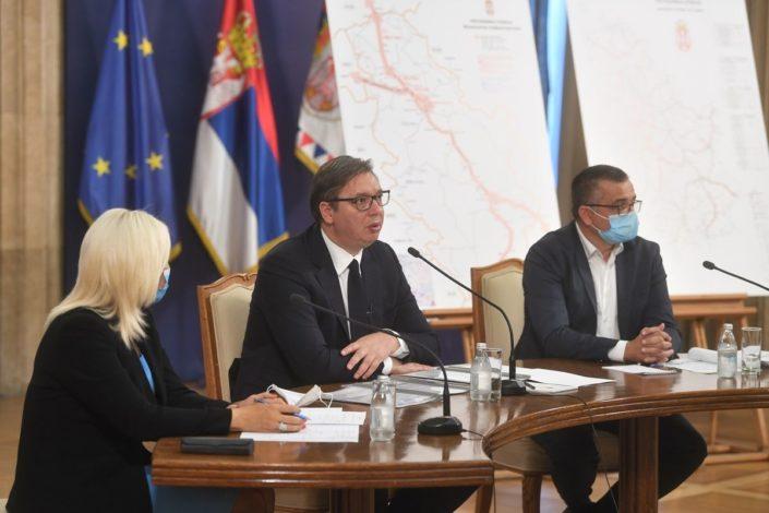 Vučić: Brisel nije demantovao Hotija da se piše tekst sporazuma