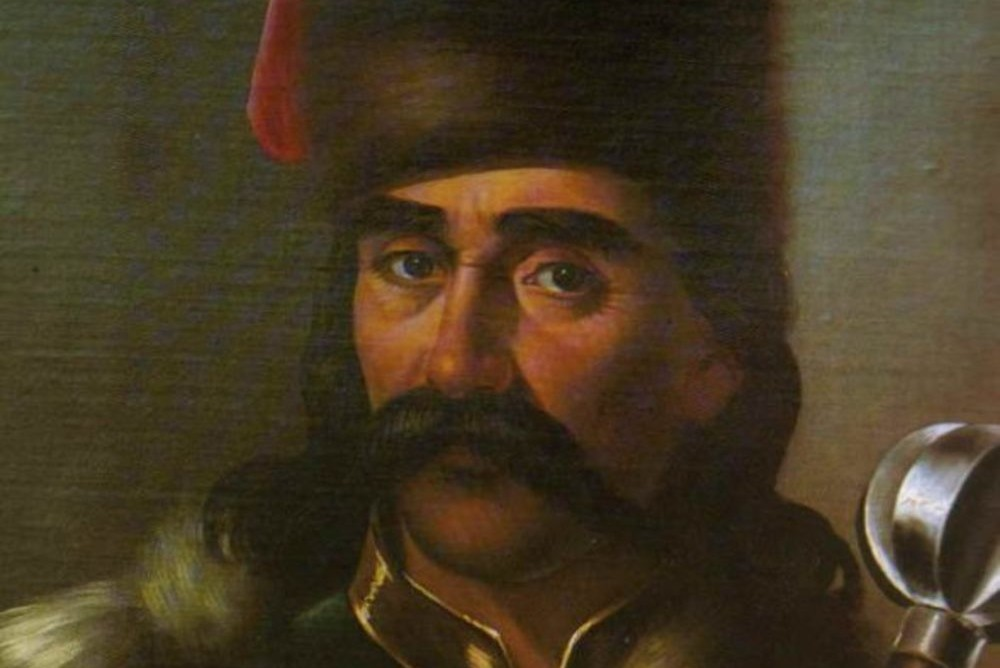 """Mina Karadžić, """"Portret Marka Kraljevića"""", oko 1850. (Foto: Wikimedia/istorijskabiblioteka.com)"""
