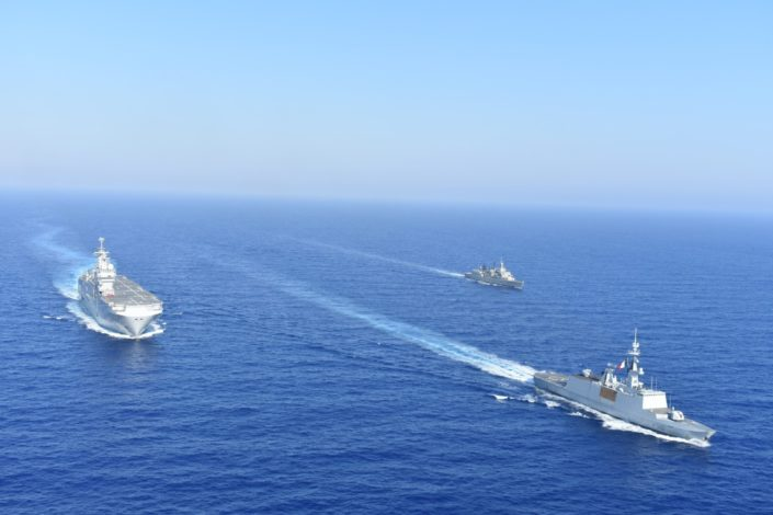 Francuska poslala dva ratna broda u Mediteran, reakcije iz Grčke i Turske