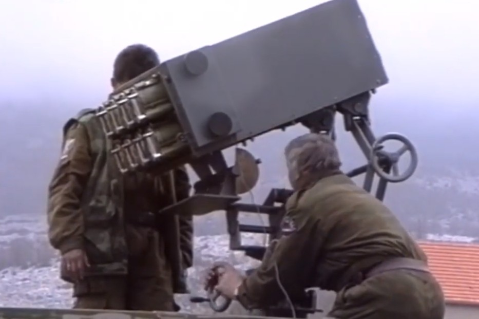 Srpska Vojska Krajine u borbama za Dinaru 1995. godine (Foto: Snimak ekrana/Jutjub)