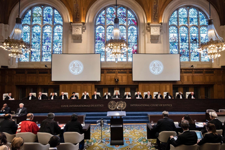 Zasedanje Međunarodnog suda pravde u Hagu (Foto: UN Photo/ICJ-CIJ/Frank van Beek)