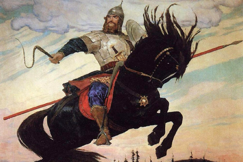 """Viktor Vasnecov, """"Ilja Muromec"""", 1914. (Foto: Wikimedia/art-catalog.ru)"""