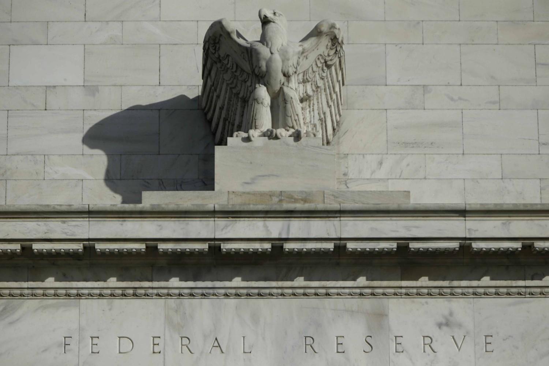 Detalj sa prednje strane zgrade Federalnih rezervi Sjedinjenih Država u Vašingtonu (Foto: Reuters/Gary Cameron)