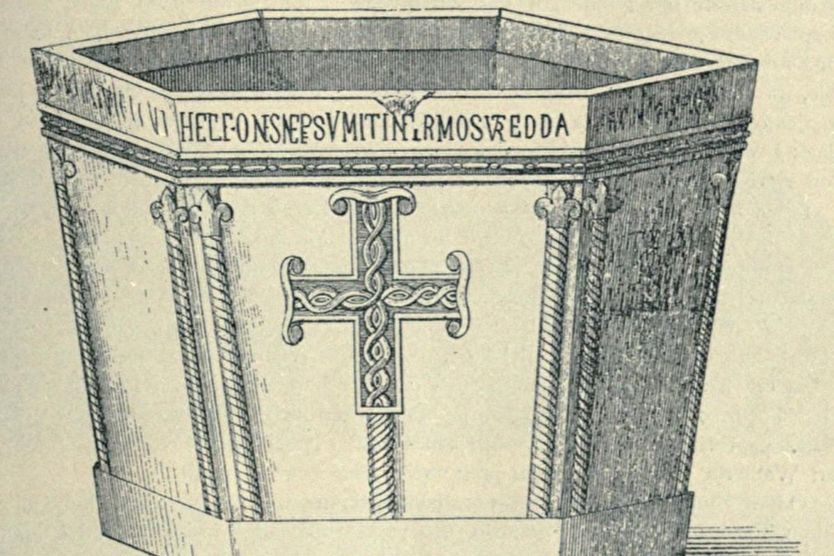 Krstionica kneza Višeslava (Foto: Sputnjik/Srpske zemlje pre Nemanjića)