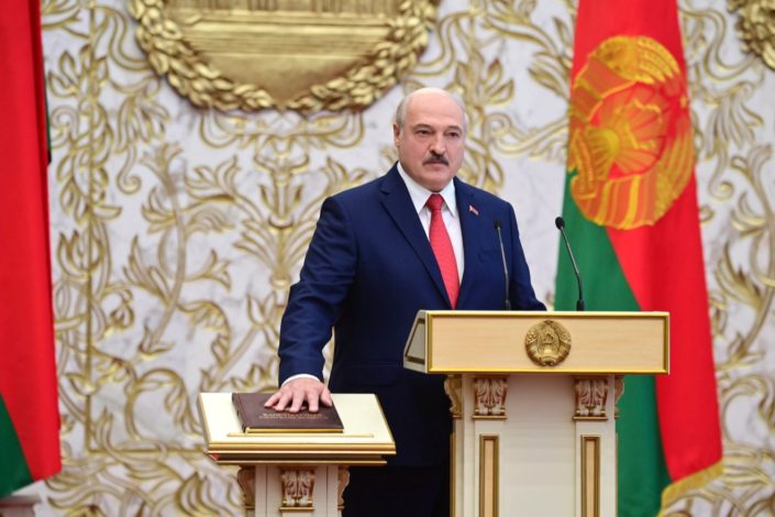 Lukašenko položio zakletvu za novi mandat, inauguracija iznenadna