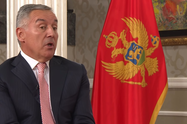 Predsednik Crne Gore i Demokratske partije socijalista Milo Đukanović (Foto: Snimak ekrana/Jutjub)