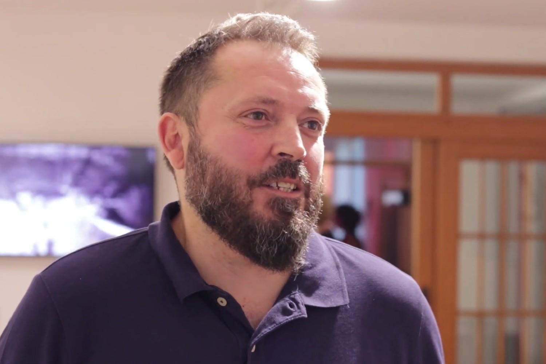 Novinar Dragan Bursać (Foto: Snimak ekrana/Jutjub)