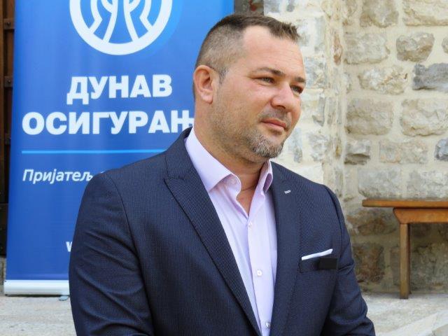 Bojan Popović, generalni direktor Dunav osiguranja Banjaluka