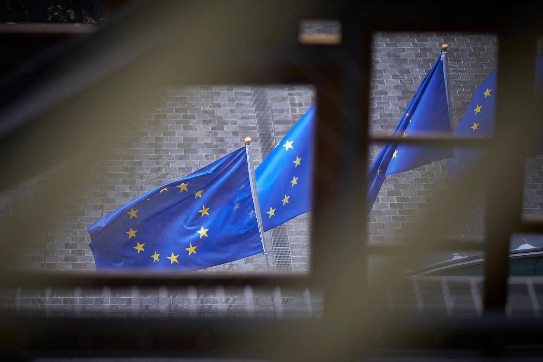 Zastave Evropske unije u Briselu (Foto: European Council/Mario Salerno)