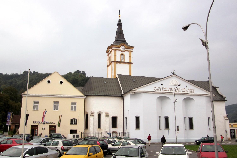 Crkva sv. Duha u (slavonskoj) Požegi (Foto: Wikimedia/Andres rus)