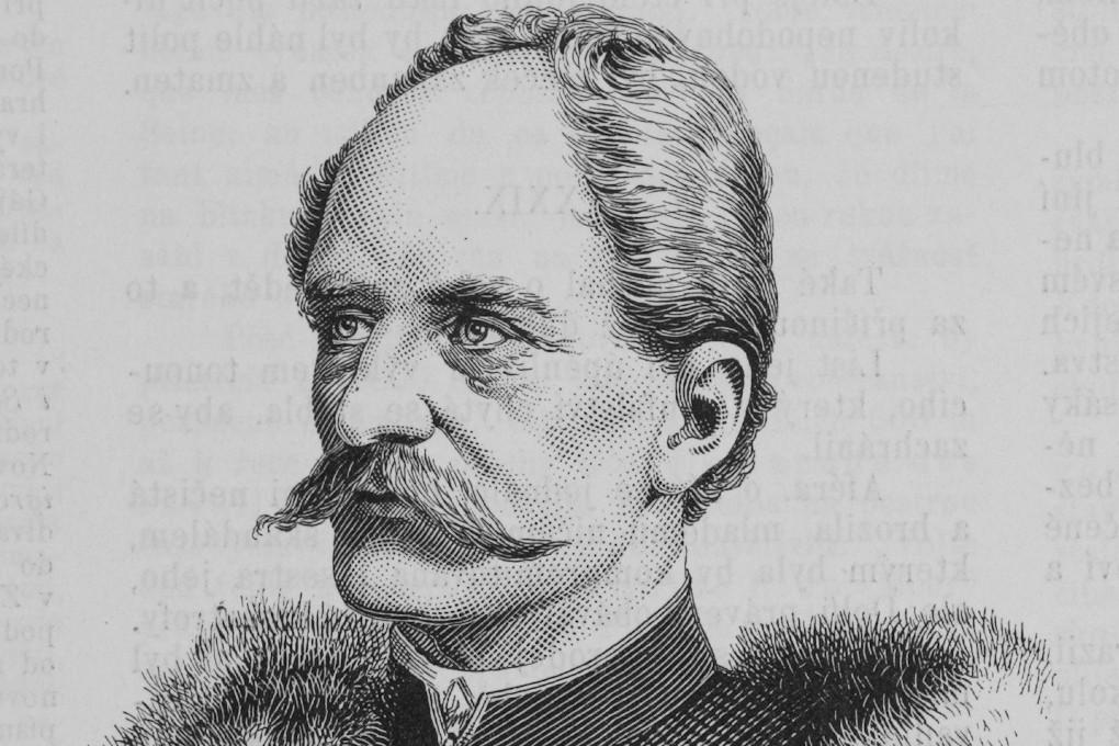 """Jozef Mukarovski, """"Portret Ivana Kukuljevića Sankcinskog"""", 1889. (Foto: Wikimedia/Světozor, year 1889, issue 41+42, digitized by Czech Academy of Sciences/Sapfan)"""