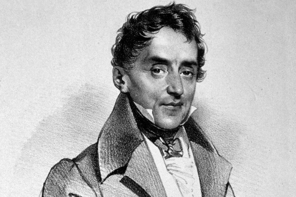 """Jozef Krihuber """"Jovan (Janoš) Čaplović"""", 1835. (Foto: Wikimedia/Eigenes Foto einer Originallithographie der Albertina (Wien)/ Peter Geymayer)"""