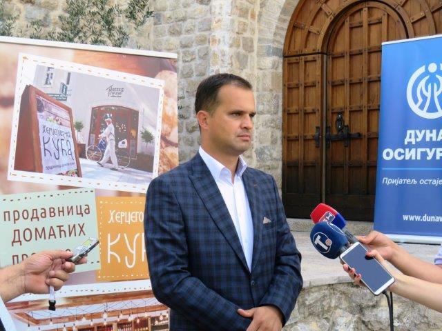 Direktor Agrarnog fonda Grada Trebinja Veselin Dutina