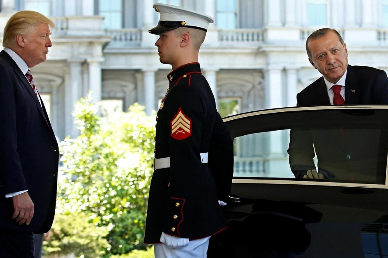 Američki predsednik Donald Tramp dočekuje turskog predsednika Redžepa Tajipa Erdogana (Foto: Reuters/File photo)