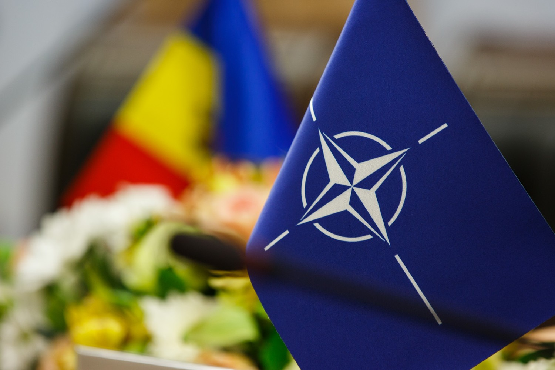 Zastavice NATO-a i Moldavije (Foto: NIDS/NATO Multimedia Library)
