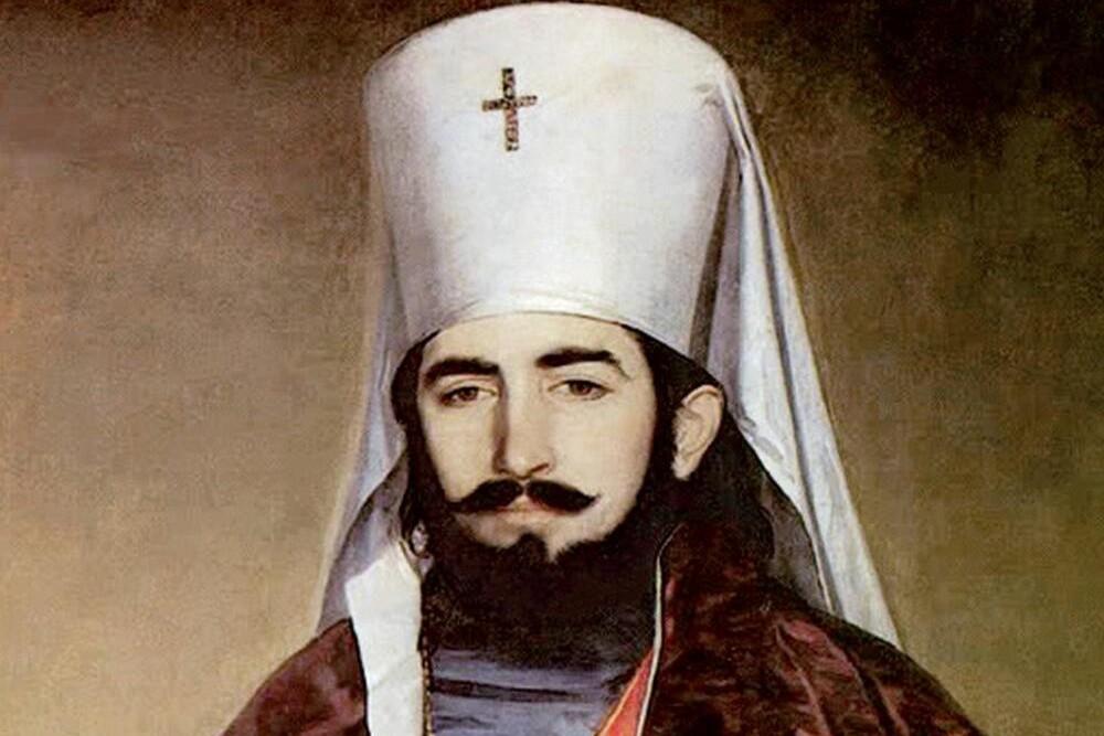 Petar II Petrović Njegoš kao vladika (Foto: Wikimedia/Hohum/riznicasrpska.net)
