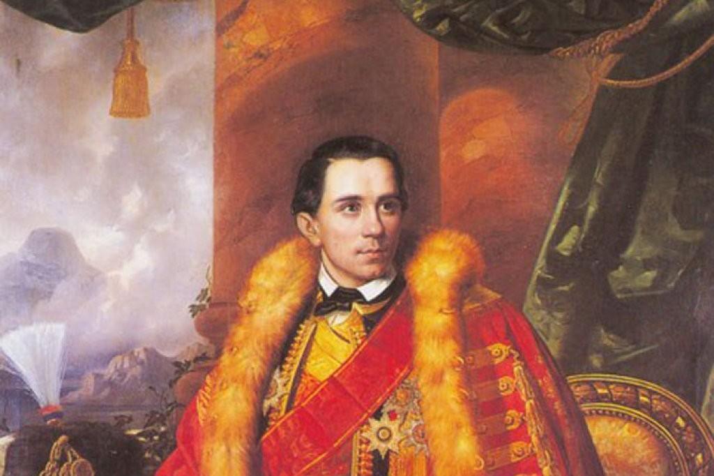 "Johan Bes, ""Portret Danila I Petrovića Njegoša"", 1855. (Foto: Wikimedia/ PancoPinco/montenegrina.net)"