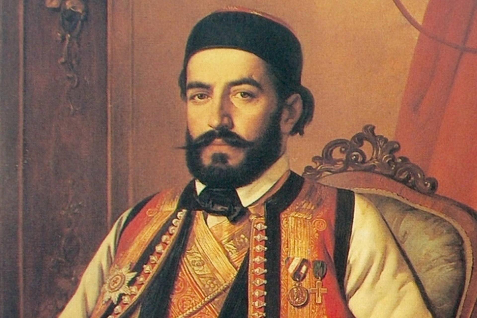 """Johan Bes, """"Portret Petra II Petrovića Njegoša"""", 1847. (Foto: Wikimedia/Materialscientist)"""