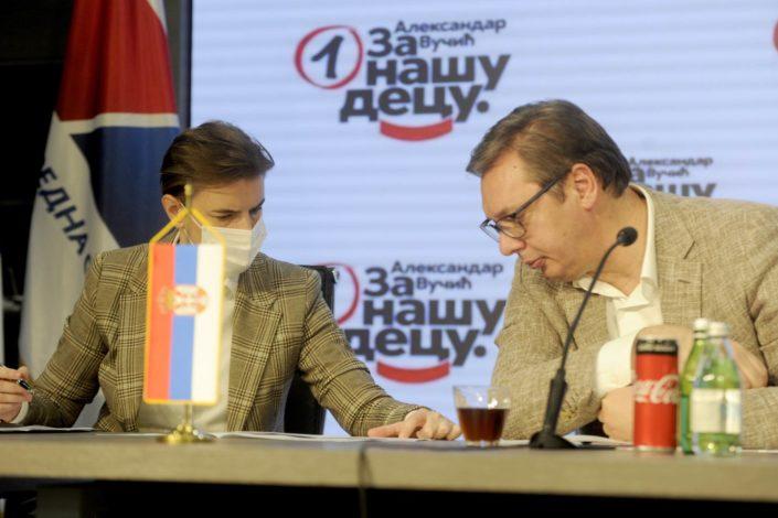 Nova vlada: Selakoviću diplomatija, Vulinu MUP, Stefanoviću odbrana…