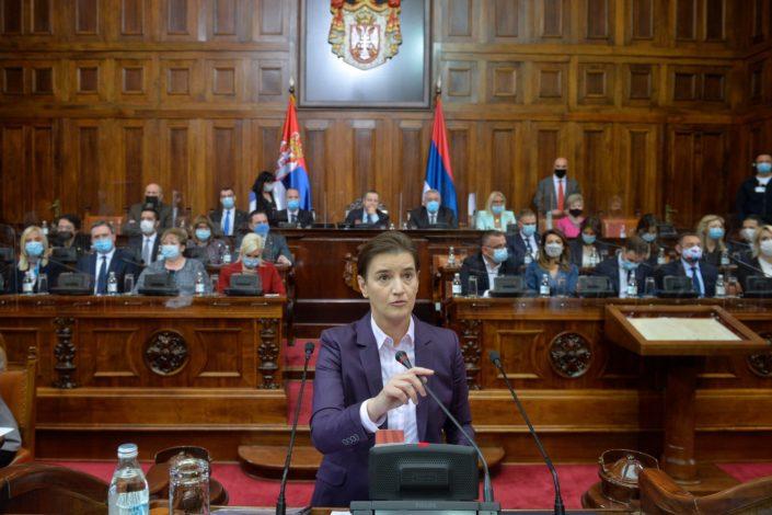 Premijerski ekspoze Ane Brnabić: Šest ciljeva nove vlade