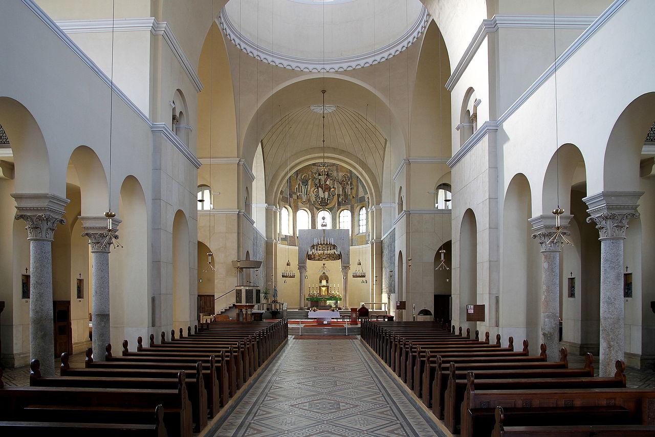 Unutrašnjost crkve Svetog Antuna Padovanskog u okrugu Favoriten u Beču (Foto: Wikimedia/Bwag)