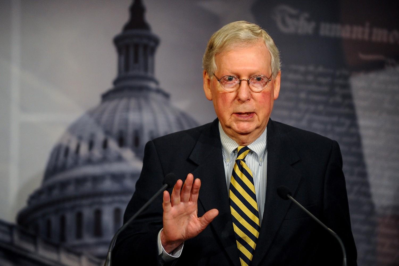 Vođa republikanske većine u Senatu senator Mič Mekonel (Foto: Reuters/Mary Calvert)