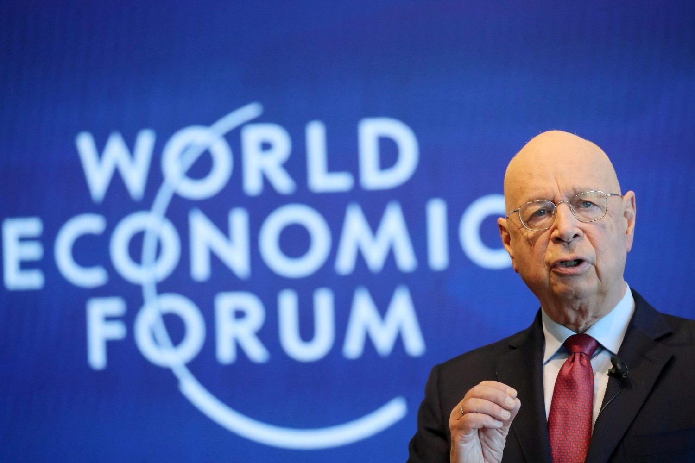 Osnivač i predsednik Svetskog ekonomskog foruma Klaus Švab (Foto: Reuters/Denis Balibouse)