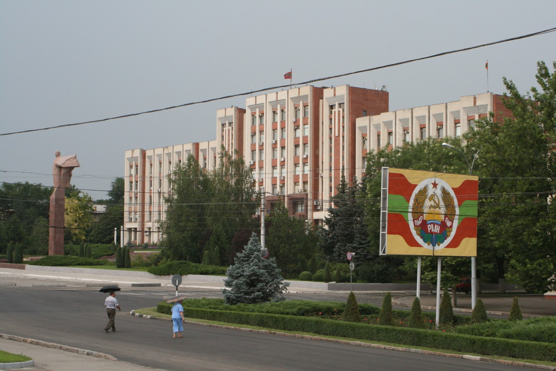 Zgrada Vrhovnog sovjeta i Vlade Pridnjestrovlja u Tiraspolju (Foto: Wikimedia/Richardfabi)