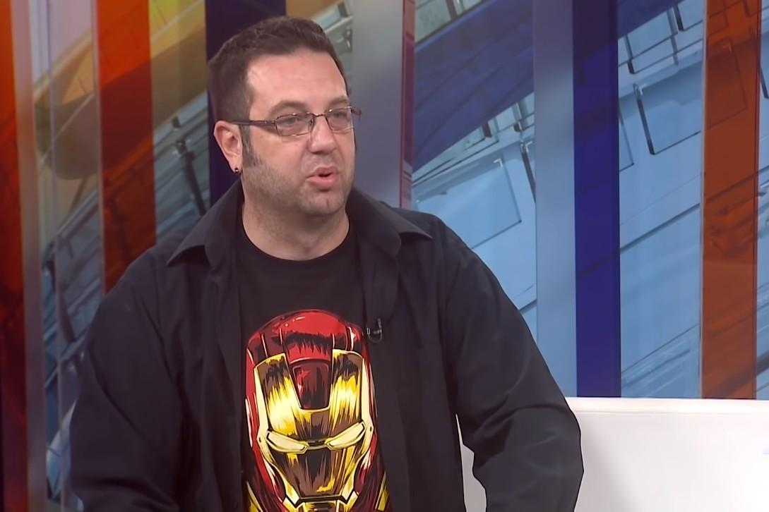 Novinar Vojvođanskog istraživačko-analitičkog centra (Voice) Dalibor Stupar (Foto: Snimak ekrana/Jutjub/N1)