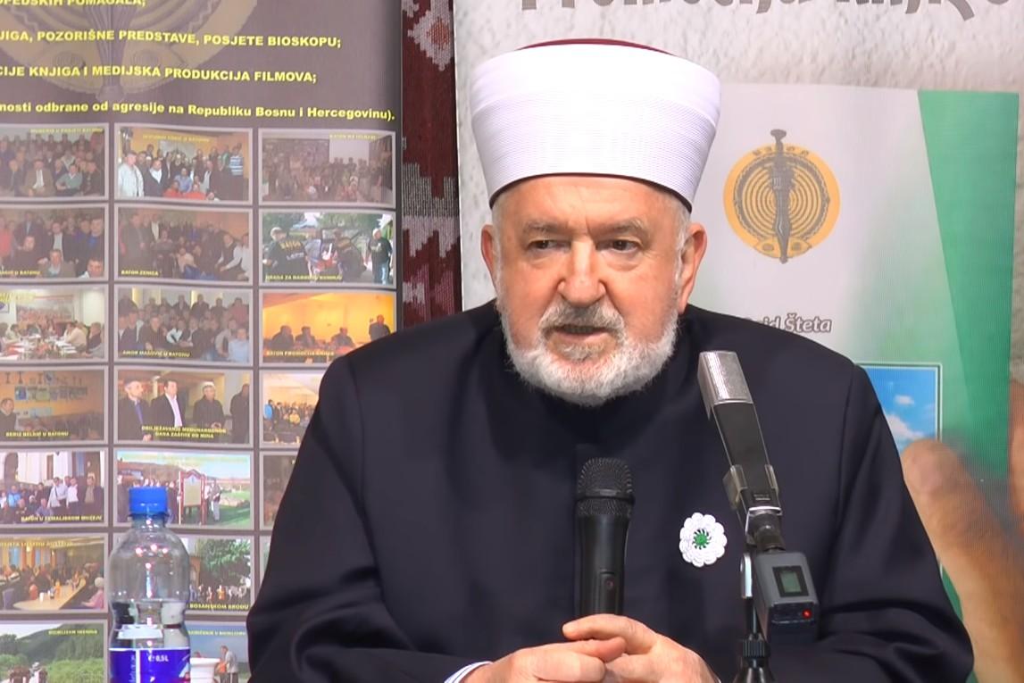 Bivši reis-ul-ulema (veliki muftija) Islamske zajednice u Bosni i Hercegovini Mustafa Cerić (Foto: Snimak ekrana/Jutjub)