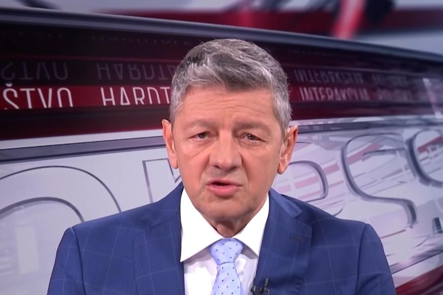 Direktor programa N1 Jugoslav Ćosić (Foto: Snimak ekrana/Jutjub/N1)