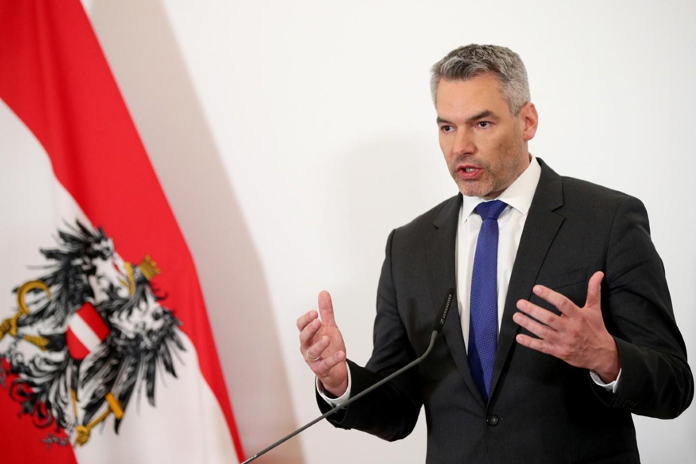 Ministar unutrašnjih poslova Austrije Karl Nehamer (Foto: Reuters/Lisi Niesner)