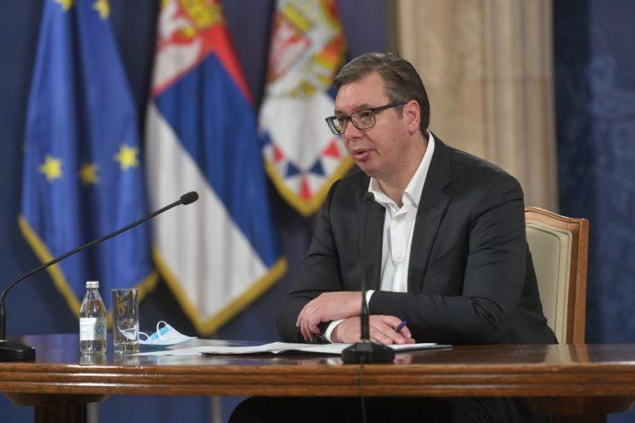 Vučić o sednici Kongresa: Bio bih demokrata kad bih se odrekao RS i KiM