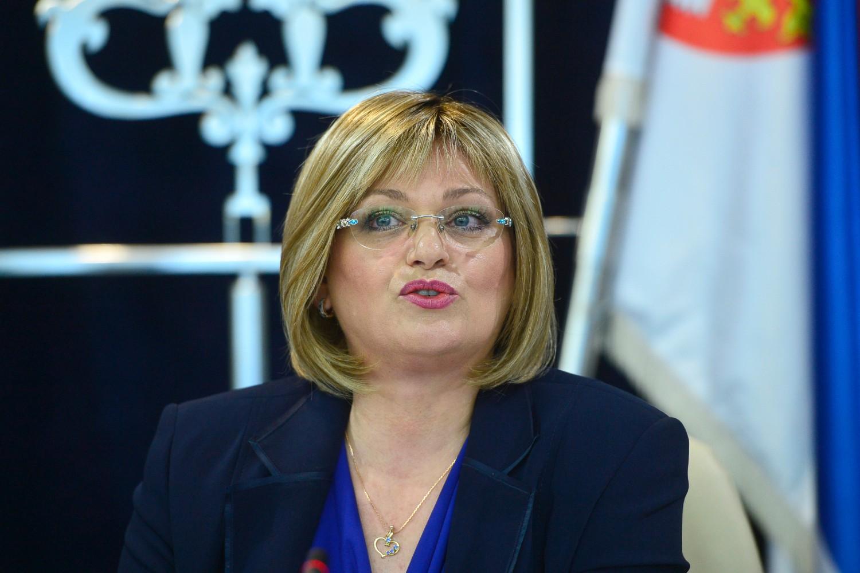 Guvernerka Narodne banke Srbije Jorgovanka Tabaković (Foto: Tanjug/Rade Prelić)
