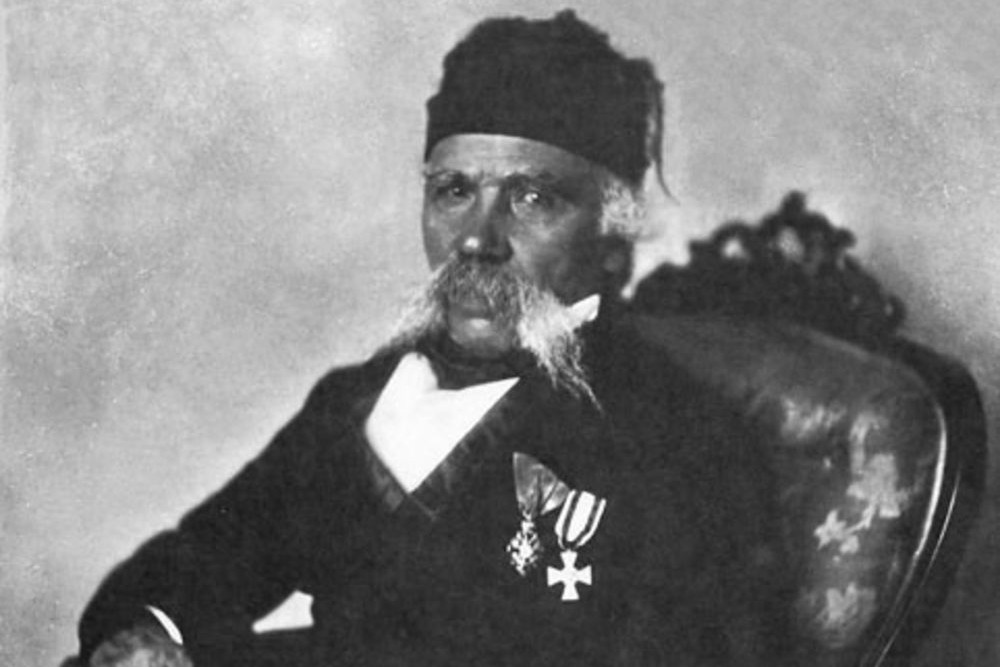 """Anastas Jovanović, """"Vuk Stefanović Karadžić"""", oko 1850. (Foto: Wikimedia/staresrpskeslike.com)"""