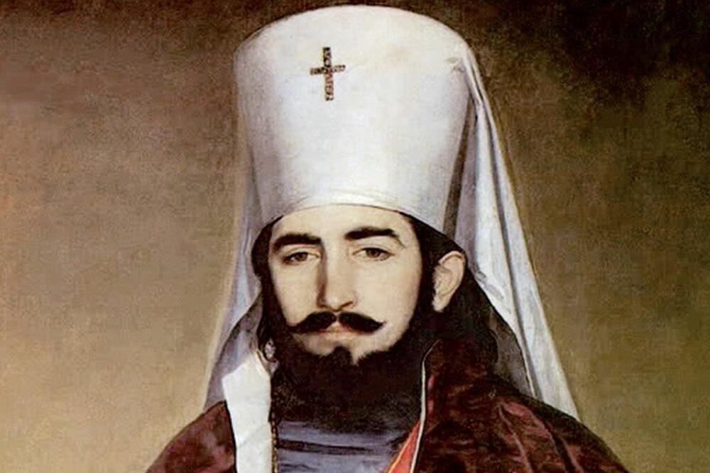 Petar II Petrović Njegoš kao vladika (Foto: Wikimedia/riznicasrpska.net)