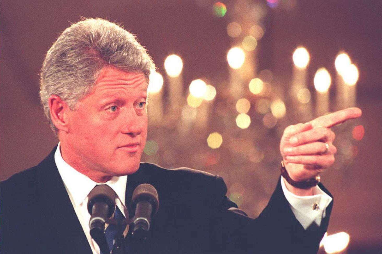 Bivši američki predsednik Bil Klinton (Foto: Luke Frazza/AFP/Getty Images)