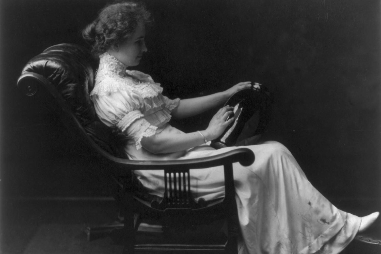Američka spisateljica Helen Adams Keler, 1909. (Foto: Wikimedia/Library of Congress)